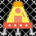 Lander Space Galaxy Icon