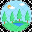 Scenery Landform Landscape Icon