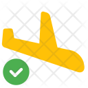 Landing Airplane Aircraft Icon