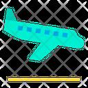 Aircraft Airport Plan Landing Icon