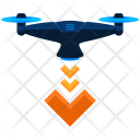 Landing Drone Icon