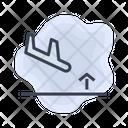 Airport Landing Aiplane Icon