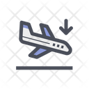 Landing Flight Landing Plane Plane Icon