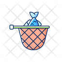 Landing Net Net Fish Icon