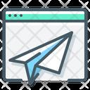 Landing Page Plane Icon