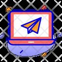 Landing Page Laptop Browser Icon