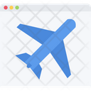 Landing Page Web Business Icon