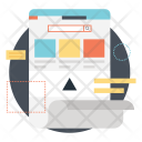 Landing Page Layout Icon
