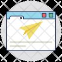 Landing Page Process Icon