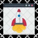 Landing Page Development Icon