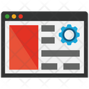 Landing Page Optimization Optimization Laptop Icon