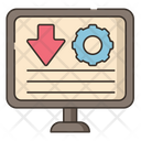 Landing Page Optimization Icon