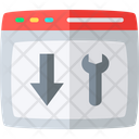 Landing Page Optimization Seo Setting Icon