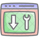 Landing Page Optimization Icon