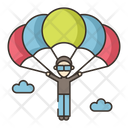 Iparachute Landing Player Parachute Icon