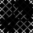 Landing Spacecraft Icon