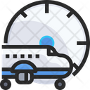 Landing Time Flight Time Plane Timing Icon