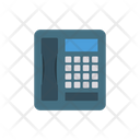 Landline Telephone Fax Icon