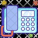 Telephone Call Landline Icon
