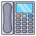 Landline Telephone Communication Icon
