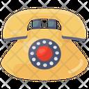 Landline Telephone Telecommunication Icon