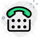 Landline Old Phone Telephone Icon