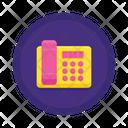 Landline Telephone Phone Icon