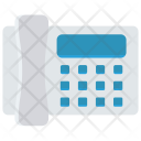 Landline Fax Telephone Icon
