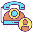 Iland Line Users Landline User Client Call Icon