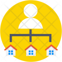 Landlord Builder Architect Icon