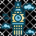 Landmark Tower Clock Icon