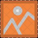 Landscape Image Mountain Icon