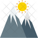 Landscape Mountains Hills Icon