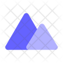 Landscape Mountains Icon