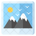 Landscape Image Photography Icon