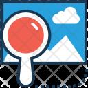 Landscape Magnifier Zoom Icon
