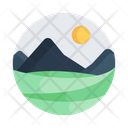 Landscape Scenery Countryside Icon