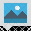 Landscape Photo Photogram Icon