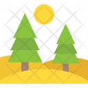 Green Forest Natural Icon