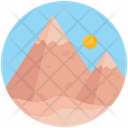 Landscape Mountain Landscape Hill Station Icon