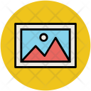 Landscape Image Mountain Icon