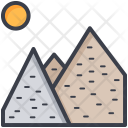Sun Mountain Range Icon