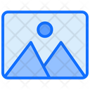 Landscape Frame Picture Icon