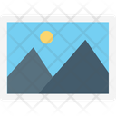 Landscape Scenery Picture Icon