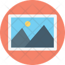 Landscape Scenery Picture Icon