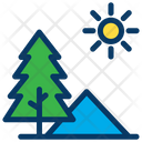 Sun Mountain Pine Icon
