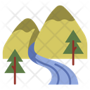 Landscape Forest Tree Icon