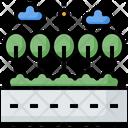 Landscape Nature Transportation Icon
