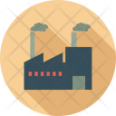 Landscape Buildings Factory Icon
