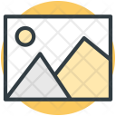Landscape Scenery Photo Icon